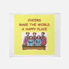choirs Throw Blanket