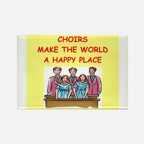 choirs Rectangle Magnet (10 pack)