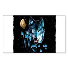 angry wolf Decal