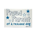 Proud Parent (Dog) Rectangle Magnet (100 pack)