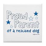 Proud Parent (Dog) Tile Coaster