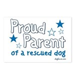 Proud Parent (Dog) Postcards (Package of 8)