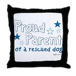 Proud Parent (Dog) Throw Pillow