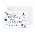 Proud Parent (Dog) Greeting Cards (Pk of 10)