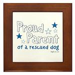 Proud Parent (Dog) Framed Tile