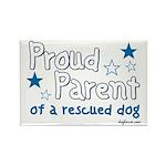 Proud Parent (Dog) Rectangle Magnet