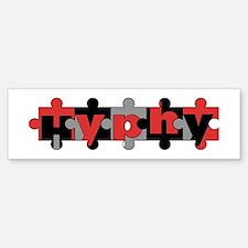 Hyphy-Puzzle Bumper Bumper Bumper Sticker