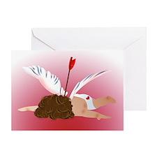 Cupid Shot Greeting Card