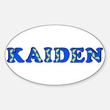 Kaiden Sticker (Oval)