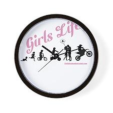 Girls Life Wall Clock