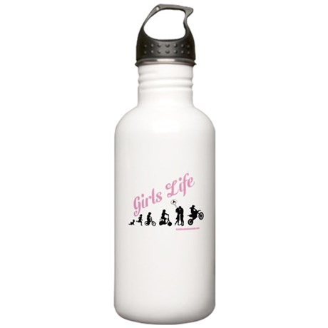 Girls Life Stainless Water Bottle 1.0L