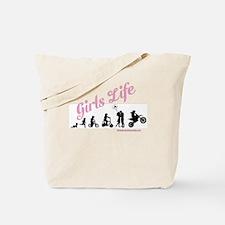 Girls Life Tote Bag