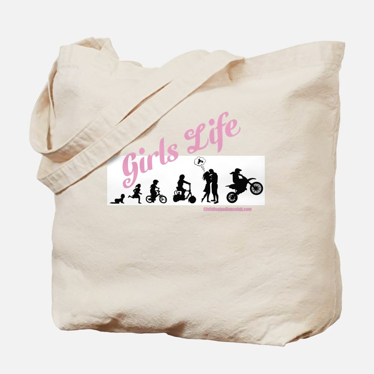 Girls Life Tote Bag