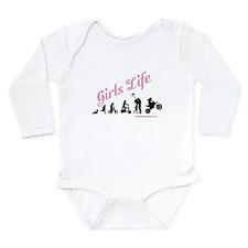Girls Life Long Sleeve Infant Bodysuit