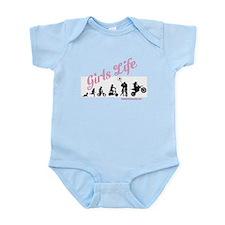 Girls Life Infant Bodysuit