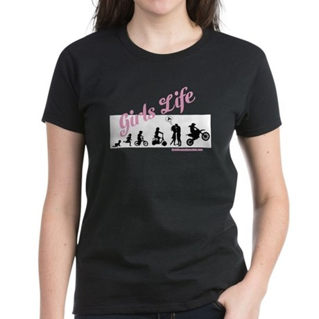 Girls Life Women's Dark T-Shirt