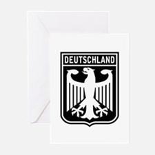 Deutschland Eagle Greeting Cards (Pk of 10)