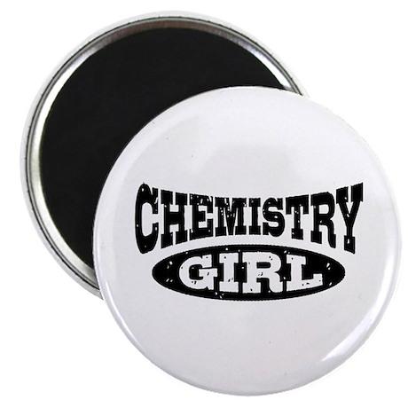 Chemistry Girl Magnet