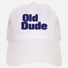 OLD DUDE (dark blue) Baseball Baseball Cap