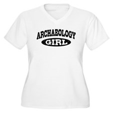 Archaeology Girl T-Shirt