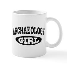 Archaeology Girl Mug