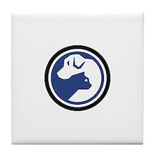 SPCA of TN Logo Tile Coaster