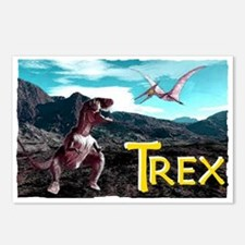 trex Postcards (Package of 8)