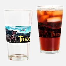 trex Drinking Glass