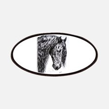 Frisian horse drawing Patches