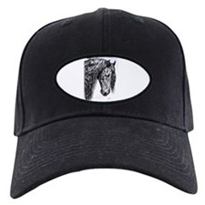 Frisian horse drawing Baseball Hat