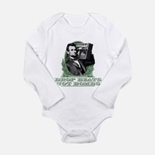 Abe Lincoln - Drops Be Long Sleeve Infant Bodysuit