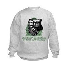 Abe Lincoln - Drops Beats Not Bomb Sweatshirt