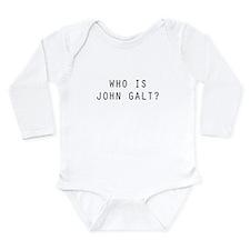 Who is John Galt Long Sleeve Infant Bodysuit