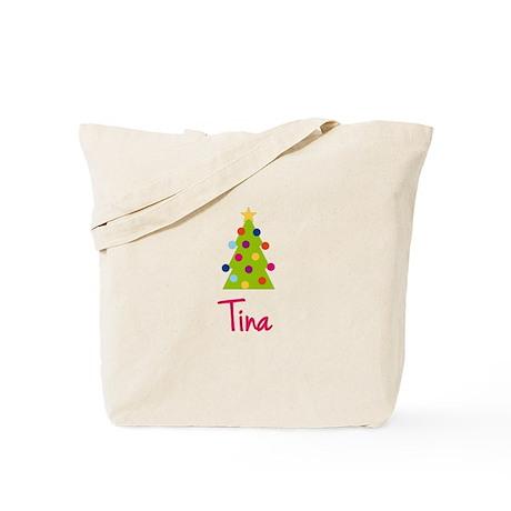 Christmas Tree Tina Tote Bag
