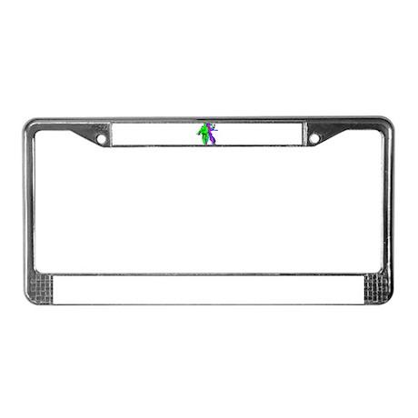 Tai-Chi License Plate Frame
