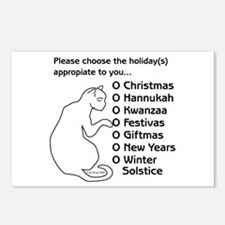Appropriate Holiday Postcards (Package of 8)