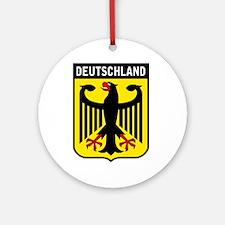 Deutschland Eagle Ornament (Round)