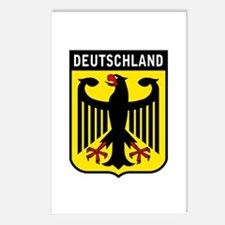 Deutschland Eagle Postcards (Package of 8)