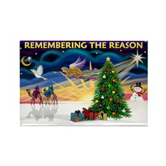 Remember (CSunrise) Rectangle Magnet (100 pack)