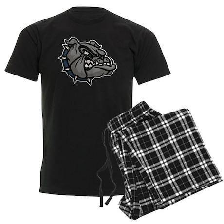 Bulldog Men's Dark Pajamas