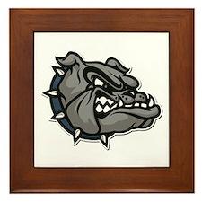Bulldog Framed Tile