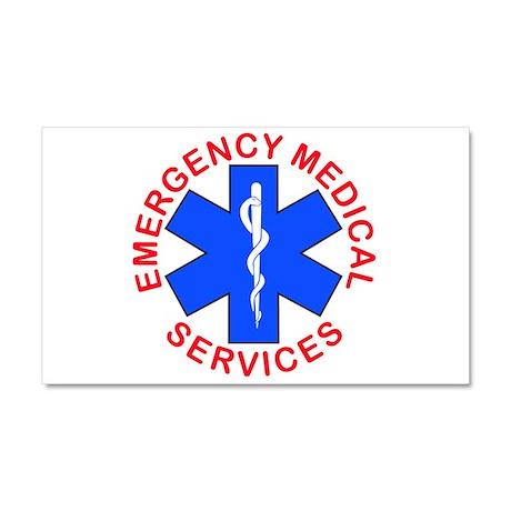 emt, ems, emergency medical Car Magnet 20 x 12