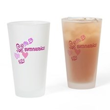 Love Gymnastics Drinking Glass