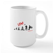 Life (guys) Ceramic Mugs