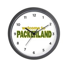 Packerland Wall Clock