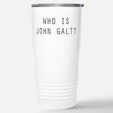 Who is John Galt Travel Mug