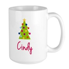 Christmas Tree Cindy Mug