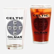 Celtic Oilman Drinking Glass,Barware,Oil,Gift