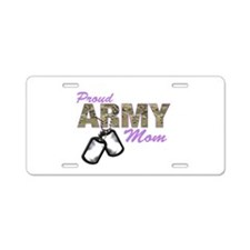 Army girlfriend Aluminum License Plate
