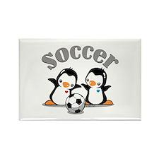 I Like Soccer (4) Rectangle Magnet